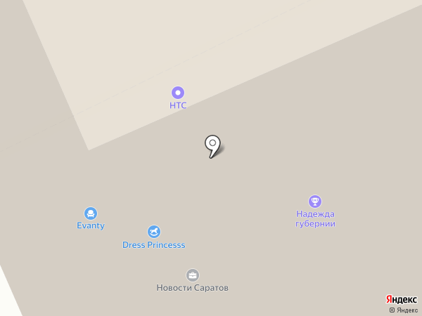 ТТК-Волга Бизнес на карте Саратова