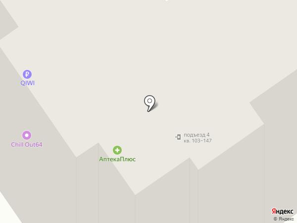 Моника на карте Саратова
