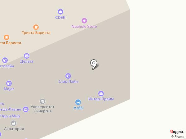 ФКС на карте Саратова