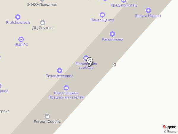 Франчайзинг 5 на карте Саратова