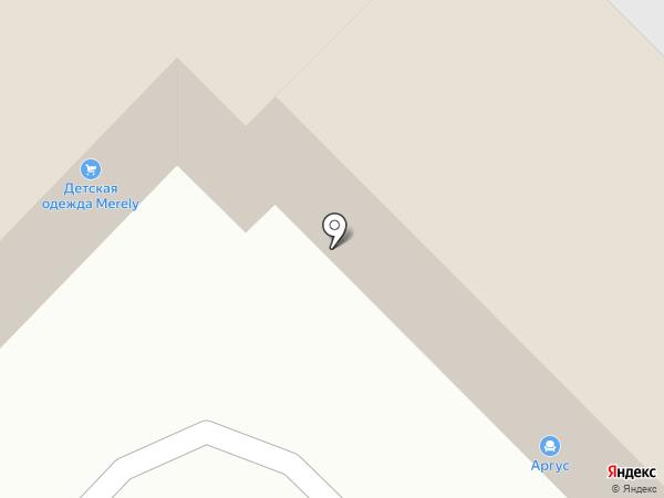 Вега на карте Саратова