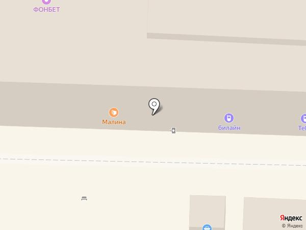 Магазин тканей на карте Саратова