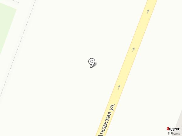 Автобаза Турист на карте Саратова