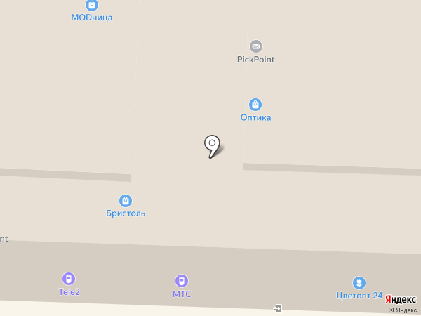 Диана на карте Саратова
