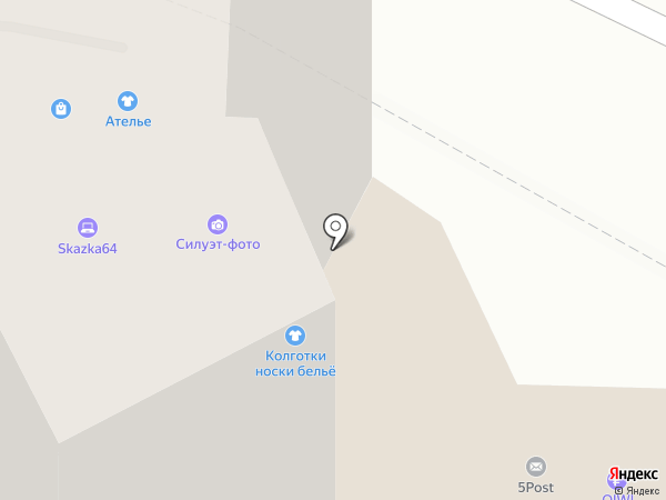На счастье на карте Саратова