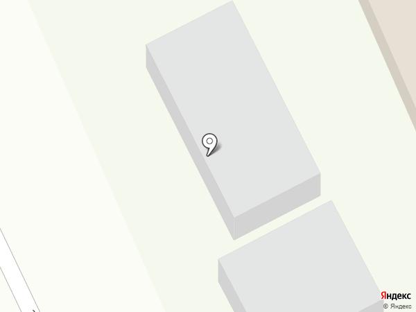 Любава на карте Саратова