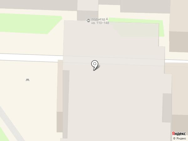 Бегемотик на карте Саратова