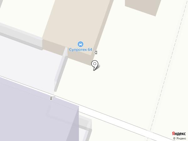 Шиномонтаж №1 на карте Саратова
