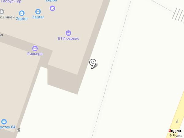 Юстиция на карте Саратова