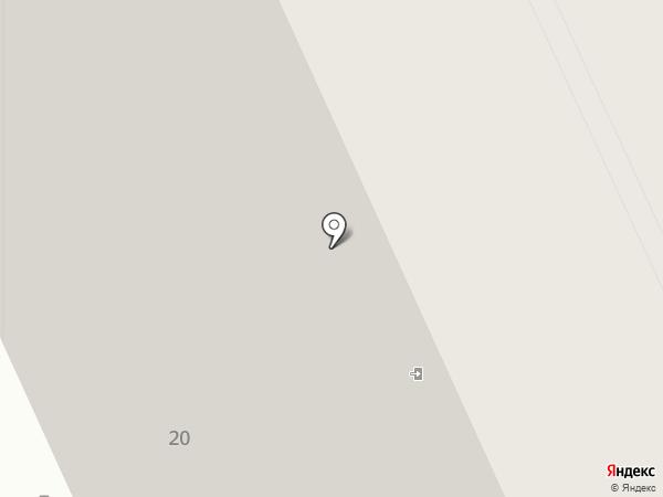 Европейский на карте Саратова