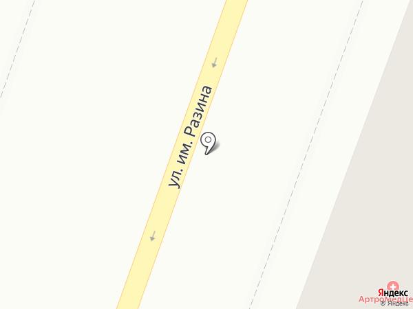 Starlet на карте Саратова