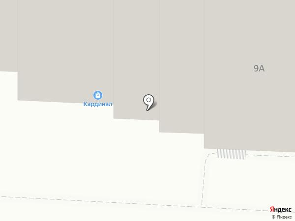 Девяточка на карте Саратова