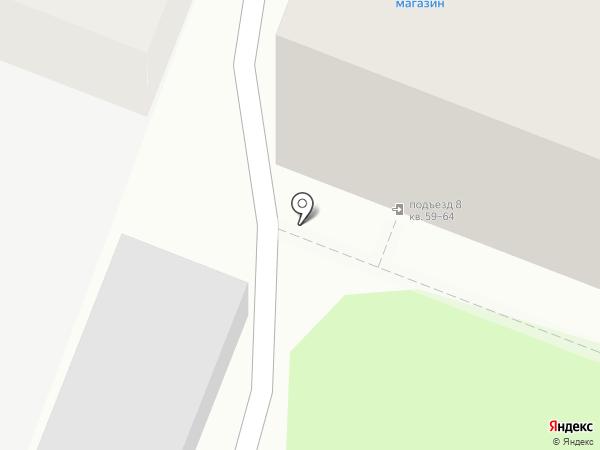Алая роза на карте Саратова