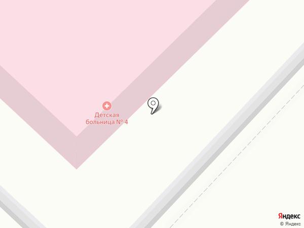 Детская городская больница №4 на карте Саратова