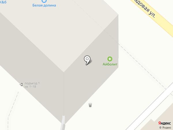 Аренда бытовок на карте Саратова