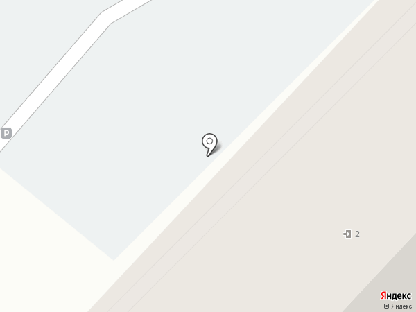 Автостоянка на ул. Рахова на карте Саратова