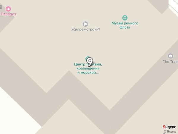 ВОСВОД, Всероссийское общество спасания на водах на карте Саратова