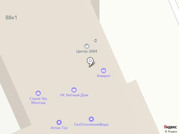 Август на карте Саратова