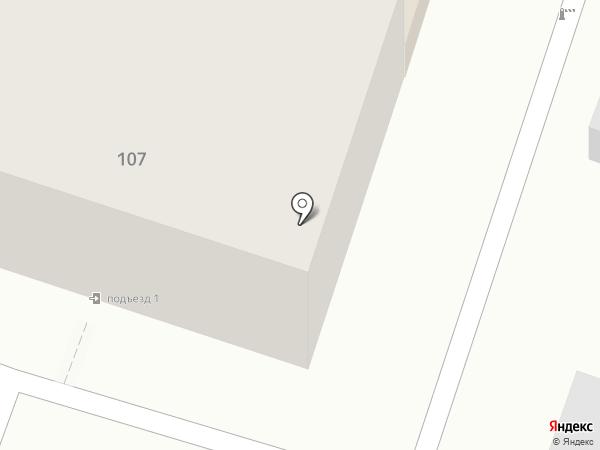 Улей на карте Саратова