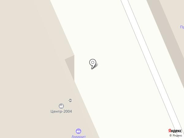 Амирит на карте Саратова