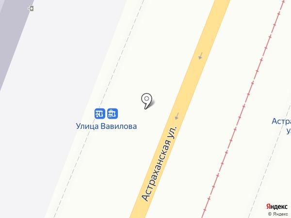 Колледж радиоэлектроники им. П.Н.Яблочкова на карте Саратова