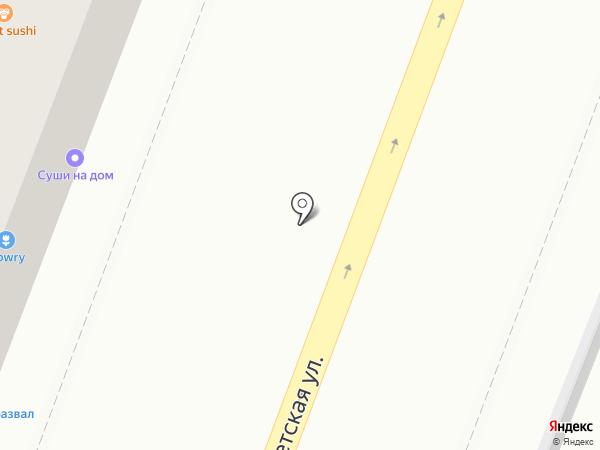 Нико на карте Саратова