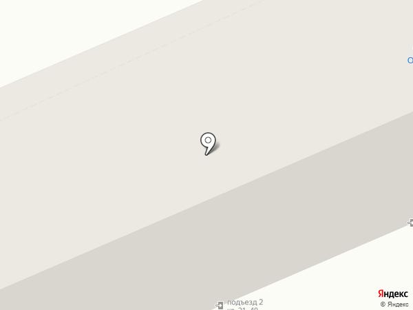Автоклад на карте Саратова