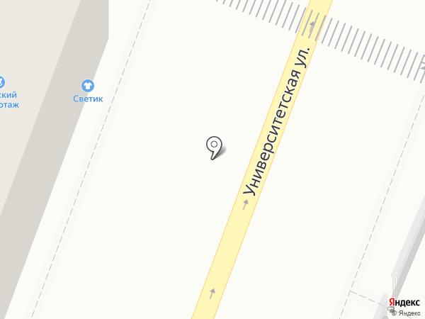 Мадам Бижу на карте Саратова