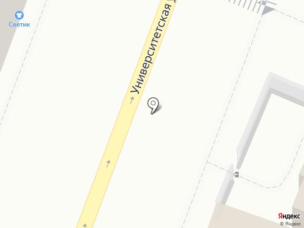 Светик на карте Саратова