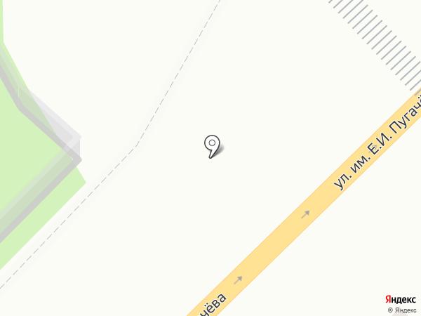 Владимирская трапеза на карте Саратова