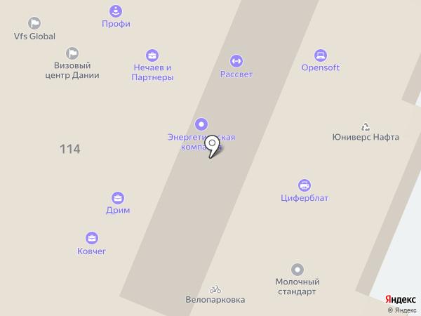 ИТК Теском на карте Саратова
