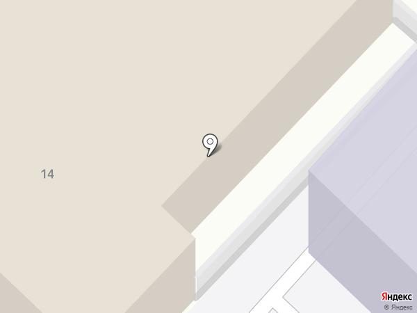 Спорткласс на карте Саратова