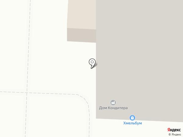 Магазин швейной фурнитуры на карте Саратова