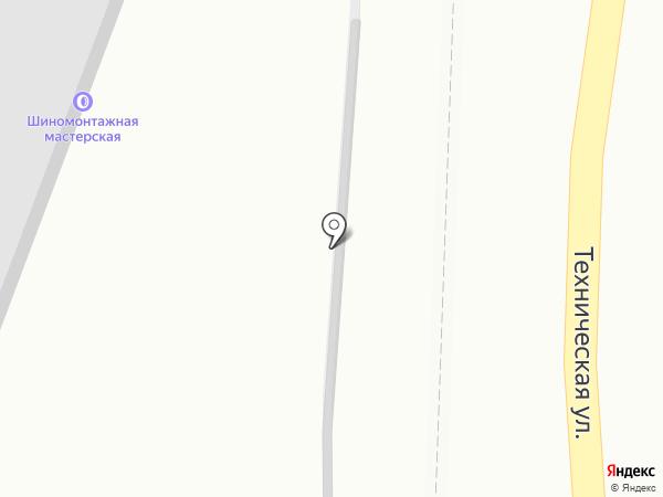 Автодок+ на карте Саратова
