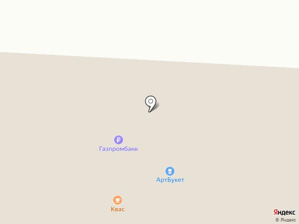 Сластёна на карте Саратова
