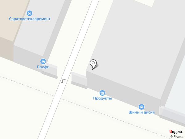 Саратовстеклоремонт на карте Саратова
