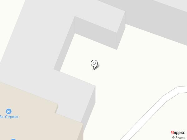 Белсар на карте Саратова