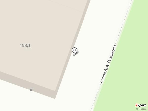 Зенит на карте Саратова
