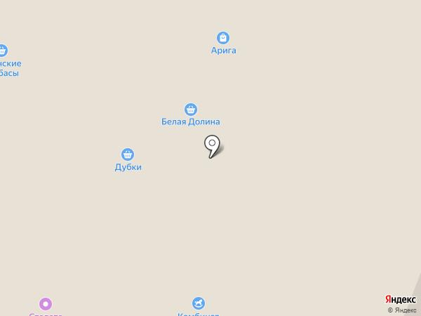 Аквамарин-2002 на карте Саратова