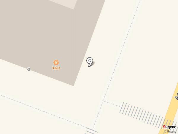X & O на карте Саратова