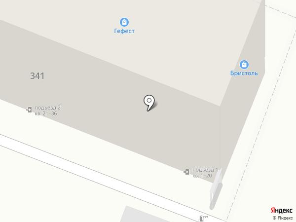 Салон офисной мебели на карте Саратова