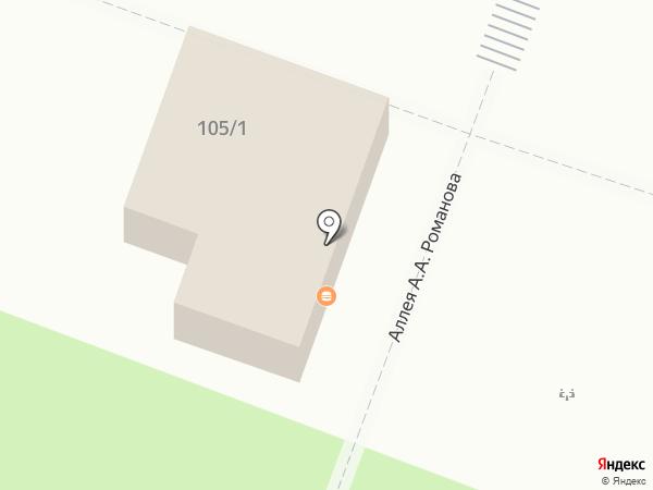 Spinky на карте Саратова