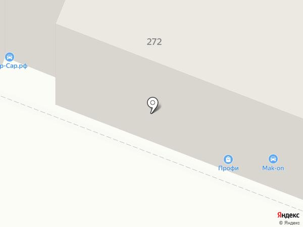 Транспортная компания на карте Саратова