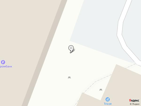 Гамма на карте Саратова