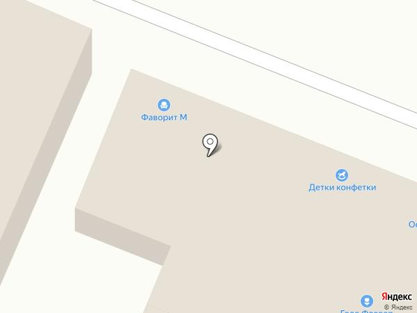Фаворит М на карте Саратова