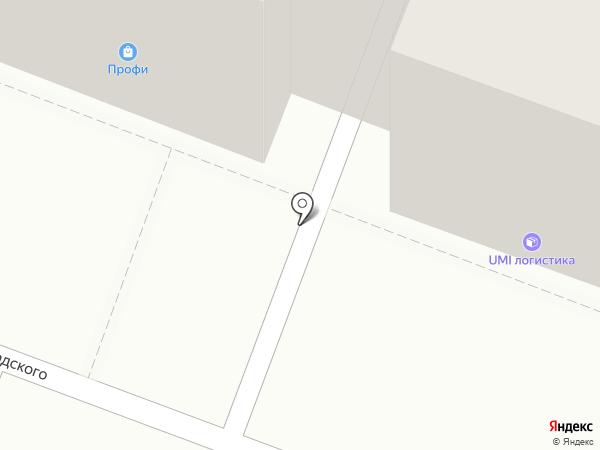 Светбери на карте Саратова