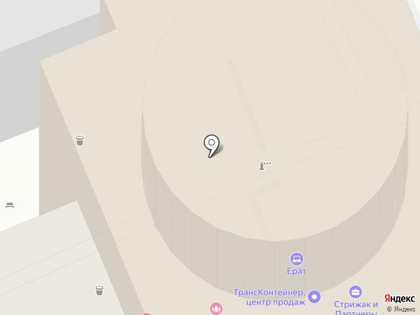 Центр заключения контрактов на карте Саратова