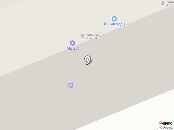 Кренделёк на карте Саратова