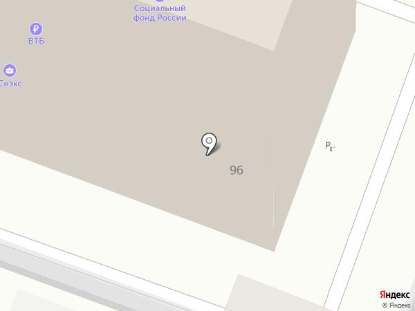 Дэнас-центр на карте Саратова