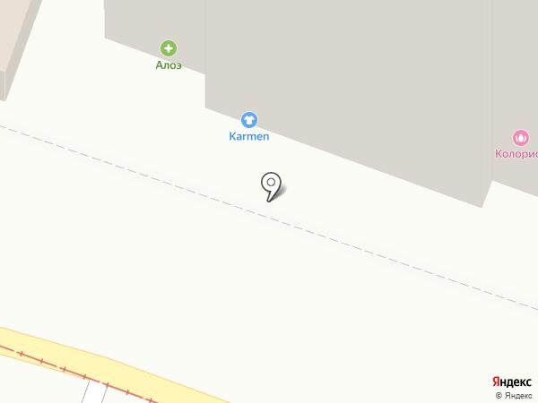 Центральная сберкасса, КПК на карте Саратова
